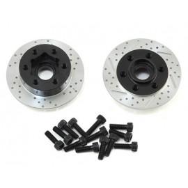 SSD RC +3mm Offset Wheel Hub w/Brake Rotor