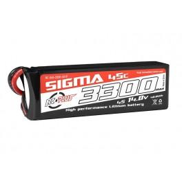 RC Plus Li-Po Batterypack Sigma 45C 3300 mAh 4S1P 14.8V XT-60