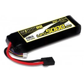 Yellow RC LiPo 5000mAh 11.1V 3S 35C , E-Revo Slash