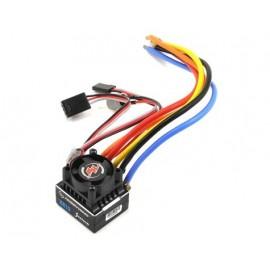 Hobbywing XeRun XR10 Justock 1/10 ESC, 60A, Black