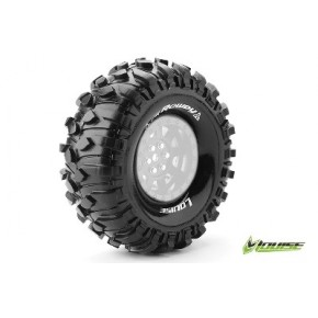 "Louise RC CR-ROWDY 1-10 Crawler Tires Super Soft for 1.9"" Rims 1 Pair"