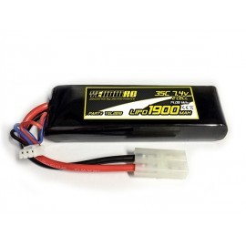 Yellow RC LiPo 4000mAh 7.4V 2S35C SOFT CASE TRAXXAS CONNECTOR