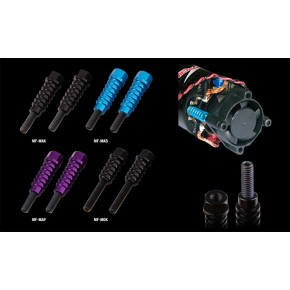 Motor Endbell Fan Posts Type2 Black (25x25 Fan size.) Only for Orion V2 Endbel