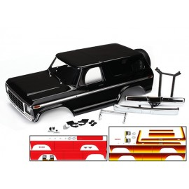 Body, Ford Bronco, complete (black) TRX-4