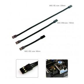 Black Suit ESC Connector male/male (150mm)