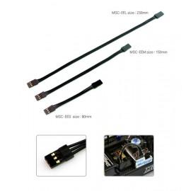 Black Suit ESC Connector male/male (230mm)