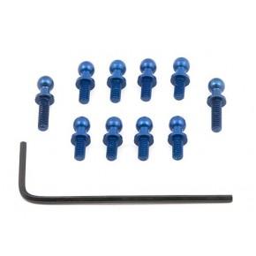 FT Blue Aluminum Ballstuds...