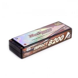 IMPACT Li-Po Battery 7200mAh/7.4V 80C Flat Hard Case