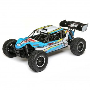 Coche Losi 1/10 TENACITY-DB 4WD Desert Buggy RTR with AVC, Blue/Yellow