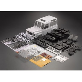 KILLERBODY D90 HARDBODY  1/10 CRAWLER FINISHED BODY WHITE