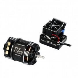 Hobbywing Xerun XR10 Pro Combo G3 3970kV (2s) 8.5T Sensored for 1:10