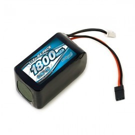 Impact Much More Li-Fe Battery 1800mAh/6.6V 4C Hmp Size for Receiver
