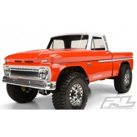 PROLINE 1966 CHEVROLET C-10 CLEAR BODY (CAB+BED) SCX10 313 MM