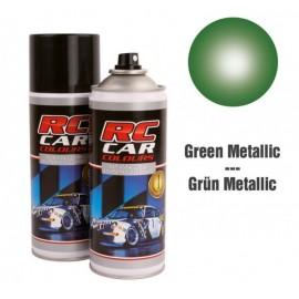Spray para lexan verde metalizado