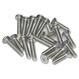 Stainless Screw Round Head 3x6mm (10PCS)