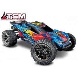 Traxxas Rustler 4X4 VXL 1/10-scale 4WD Stadium Truck TSM