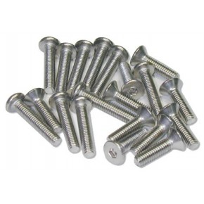 Stainless Screw Round Head 3x8mm (10PCS)