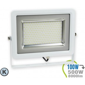 Foco LED 100 W SMD Slim...