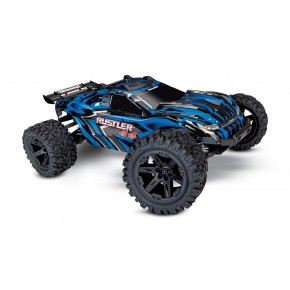 Traxxas Rustler 4X4 1/10-scale 4WD Stadium Truck with battery and charger