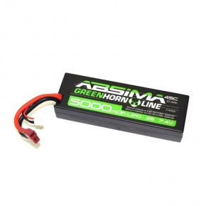LiPo Stick Pack 7.4V-45C 5000 Hardcase (T-Plug)