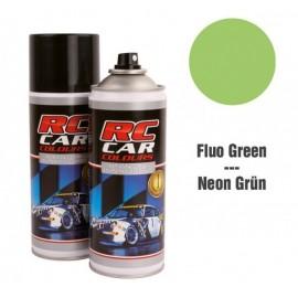Spray para lexan verde fluorescente