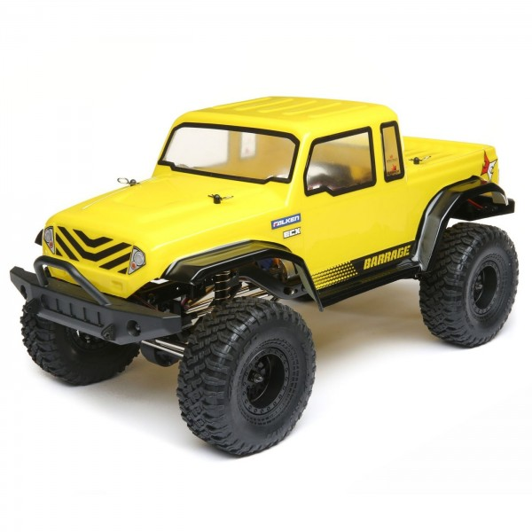 Crawler 1/12 ECX Barrage Gen2 1.55 4WD Scaler Brushed RTR Yellow