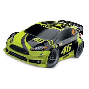 Traxxas Rally Ford Fiesta ST Electric Rally racer TQ 2.4