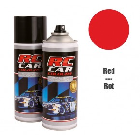 Spray para lexan rojo