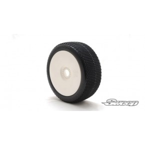 EXP MICRO CONTACTS White(Medium) complete set tires/White 4pcs