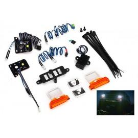 LED light set Bronco TRX-4 (contains headlights, tail lights, side marker lights, and distribution block)
