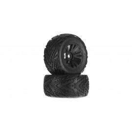 Minokawa MT 6S Tire Wheel Glued Black (2)