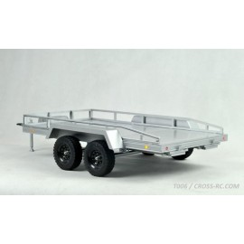 Cross RC T006 Twin-Axle 1/10 Scale Flatbed Trailer Kit