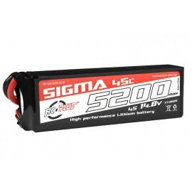 RC Plus Li-Po Batterypack Sigma 45C 5200 mAh 4S1P 14.8V XT-60