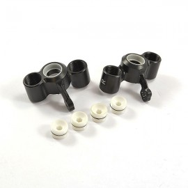 FASTRAX ARRMA FRONT ALU LOWER SUS. ARMS - KRATON/OUTKAST
