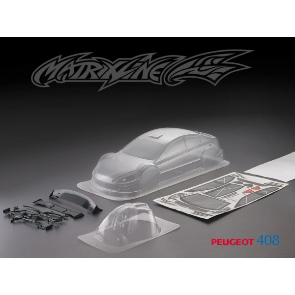 MATRIXLINE 408 CLEAR BODY 190mm w/ACCESSORIES