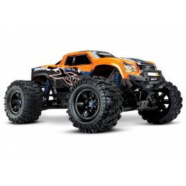 Traxxas X-Maxx 4WD VXL-8S Monstertruck TQi TSM (no battery/charger), Orange