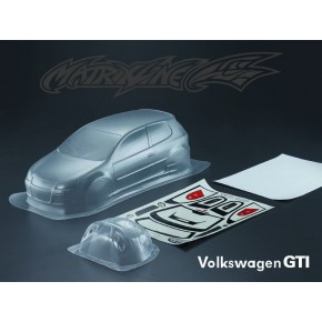 MATRIXLINE GTI CLEAR BODY 190mm w/ACCESSORIES