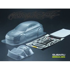 MATRIXLINE WRX CLEAR BODY 190mm w/ACCESSORIES