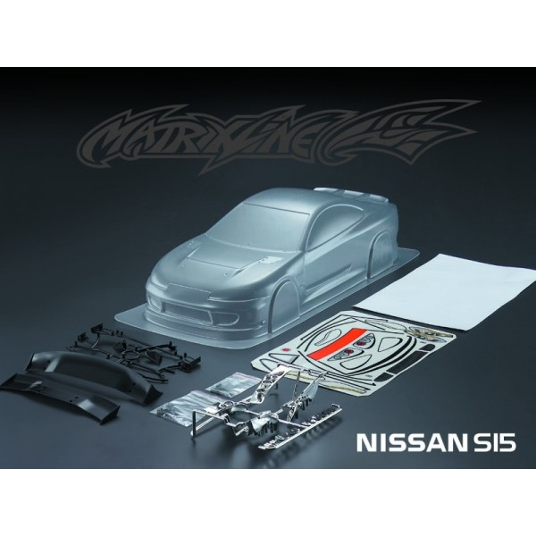 MATRIXLINE S15 CLEAR BODY 190mm w/ACCESSORIES
