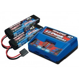 Traxxas 4S (2X 2869X 7.4V LiPO& 1X 2972G duo charger)