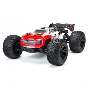 ARRMA Kraton 1/10 Monster Truck Brushless 4S 4WD RTR (rojo)