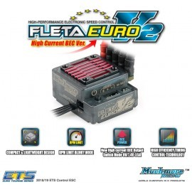FLETA Euro V2 Brushless ESC High Current BEC Ver.