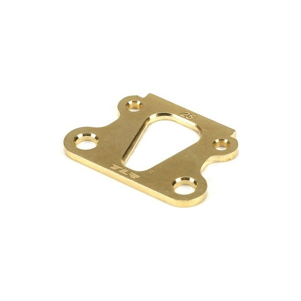Brass Kick Angle Shim, 25 Deg: 22