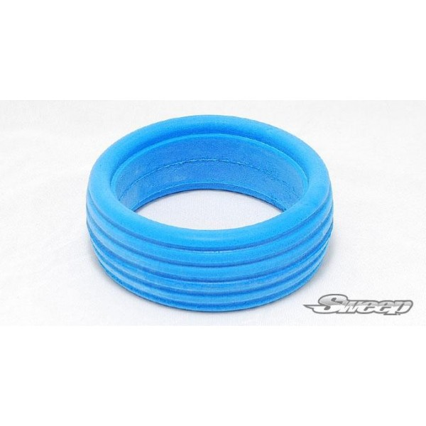 Sweep 1:8 buggy molded grooved tire inserts V2 Aqua(Soft) 4pcs