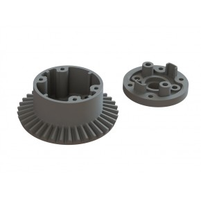 DIFF CASE SET 37T MAIN GEAR