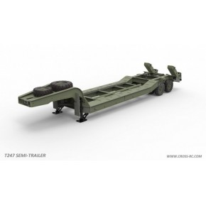 "Cross RC T247 Flatbed ""Lowboy"" Trailer Kit For Bc8"