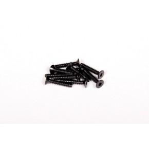 M3x16mm Hex Socket Tapping Flat Head (Black) (10pcs)