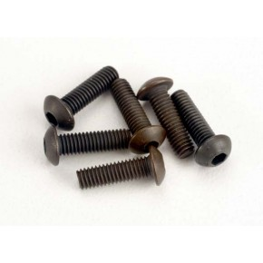 Screws 2.5x8mm button-head machine (hex drive) (6))