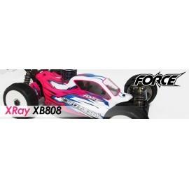 Carrocería XRAY 808 Force Buggy