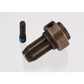 Drive hub front hardened steel (1) screw pin (1)
